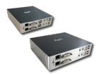 MMS IP-KVM Удлинитель 2 x (DVI / HDMI сигнала + Аудио + USB), для работы в локальной сети Gigabit Ethernet (макс. разрешение 1920x1200@60, 2 порта RJ45)